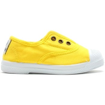 Zapatos Mujer Tenis Natural World Tennis en toile 504-102 Amarillo Amarillo