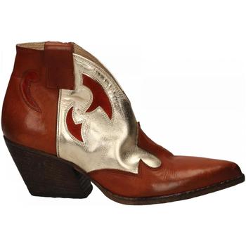 Zapatos Mujer Botines Elena Iachi WASH cuoio-platino