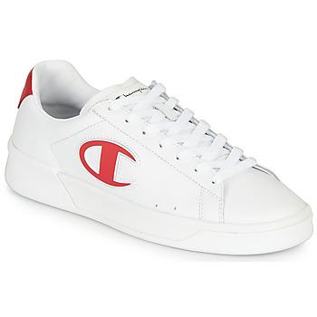 Zapatos Hombre Zapatillas bajas Champion M 979 LOW Blanco / Rojo