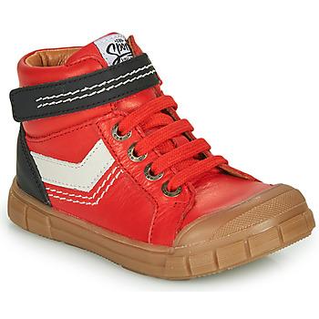 Zapatos Niño Zapatillas altas GBB BAO Rojo