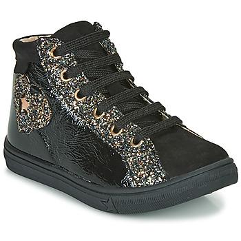 Zapatos Niña Zapatillas altas GBB MARTA Negro