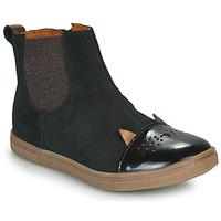 Zapatos Niña Botas de caña baja GBB JESSINE Negro