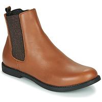 Zapatos Niña Botas de caña baja GBB ARANA Cognac
