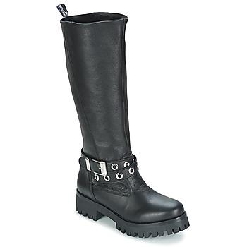 Zapatos Mujer Botas urbanas Love Moschino GROGI Negro