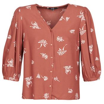 textil Mujer camisas Vero Moda VMJILLEY Burdeo