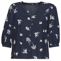 textil Mujer camisas Vero Moda VMJILLEY Marino