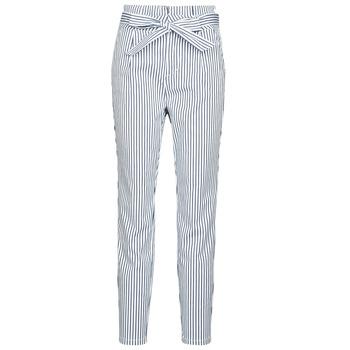 textil Mujer pantalones chinos Vero Moda VMEVA Blanco / Gris