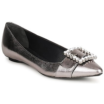 Zapatos Mujer Bailarinas-manoletinas Marc Jacobs MJ19417 Plateado