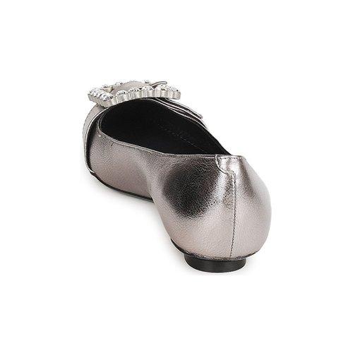 Marc Mujer Bailarinas Mj19417 Plateado manoletinas Zapatos Jacobs 9WIED2H