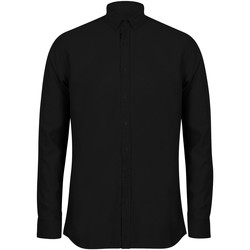 textil Hombre Camisas manga larga Henbury HB512 Negro