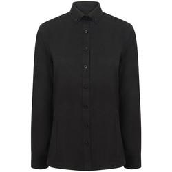 textil Mujer Camisas Henbury HB513 Negro
