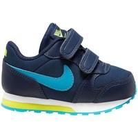Zapatos Niño Running / trail Nike MD Runner 2 Azul marino