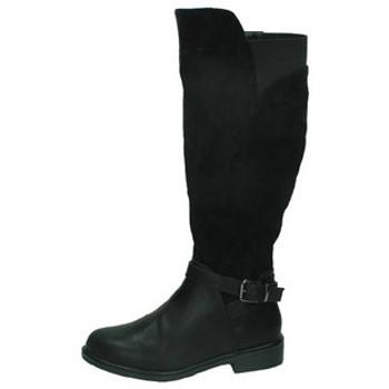 Zapatos Mujer Botas urbanas H.f Shoes Botas camperas negro Negro