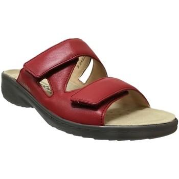 Zapatos Mujer Zuecos (Mules) Mobils By Mephisto Geva Cuero rojo