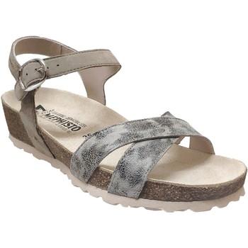 Zapatos Mujer Sandalias Mephisto Stela cuero gris