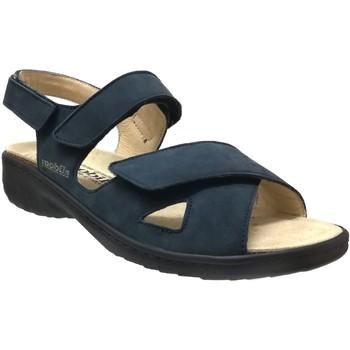 Zapatos Mujer Sandalias Mobils By Mephisto Geryna Nubuck azul marino
