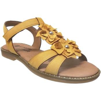 Zapatos Mujer Sandalias Remonte Dorndorf D3658 amarillo