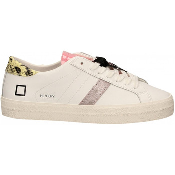 Zapatos Mujer Zapatillas bajas Date HILL LOW CALF PYTHON bianco-giallo