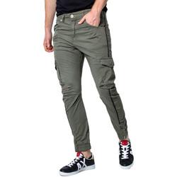 textil Hombre Pantalón cargo Displaj EVOLUTION MOLLA Verde