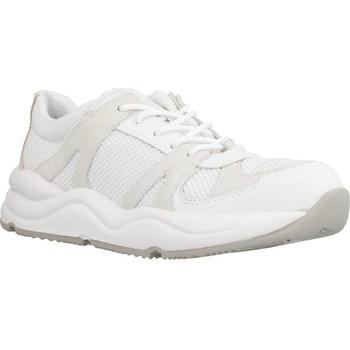 Zapatos Mujer Zapatillas bajas Geox D TOPAZIO A Blanco