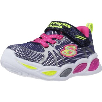 Zapatos Niña Zapatillas bajas Skechers SHIMMER BEAMS-SPORTY GLOW Azul