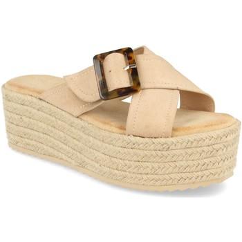 Zapatos Mujer Alpargatas Buonarotti 1CF-0112 Beige