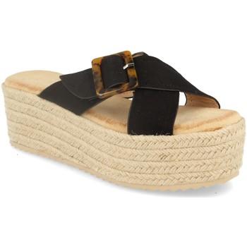 Zapatos Mujer Alpargatas Buonarotti 1CF-0112 Negro