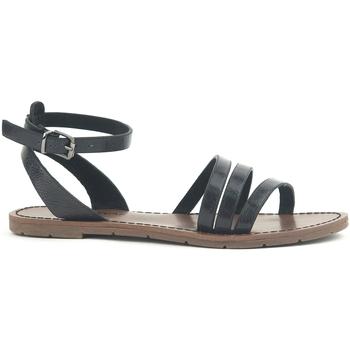 Zapatos Mujer Sandalias Chattawak Sandale  9-PAGO Noir Negro