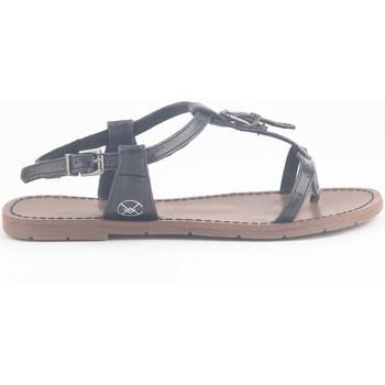 Zapatos Mujer Sandalias Chattawak Sandale 9-ZHOE Noir Negro
