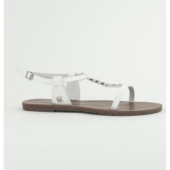 Zapatos Mujer Sandalias Chattawak Sandale 9-PETUNIA Blanc Blanco