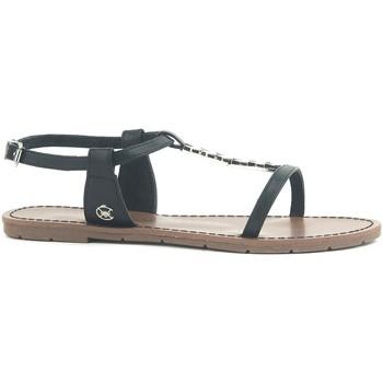 Zapatos Mujer Sandalias Chattawak Sandale 9-PETUNIA Noir Negro