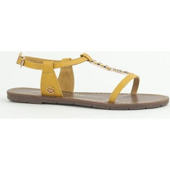 Zapatos Mujer Sandalias Chattawak Sandale 9-PETUNIA Jaune Amarillo