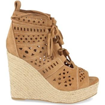 Zapatos Mujer Alpargatas Buonarotti 1A-0005 Camel