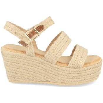 Zapatos Mujer Alpargatas Buonarotti 1CF-0117 Beige