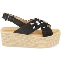 Zapatos Mujer Alpargatas Buonarotti 1CF-0118 Negro