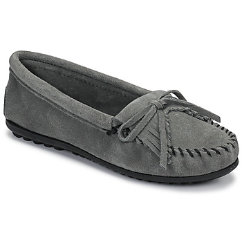 Zapatos Mujer Mocasín Minnetonka KILTY Gris