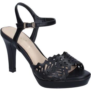 Zapatos Mujer Sandalias Ikaros sandalias cuero sintético negro