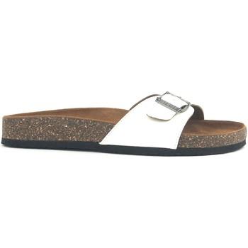 Zapatos Mujer Zuecos (Mules) Chattawak Mule  9-OPALINE Blanc Vernis Blanco