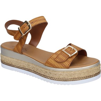 Zapatos Mujer Sandalias Sara sandalias cuero sintético marrón