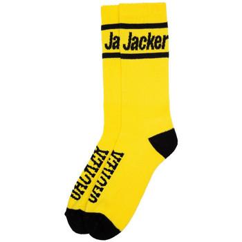 Accesorios textil Hombre Calcetines Jacker After logo socks Amarillo