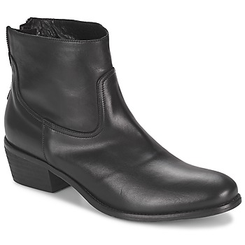 Zapatos Mujer Botas de caña baja Meline SOFMET Negro
