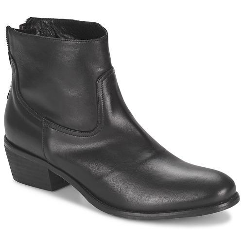 Casual salvaje Zapatos especiales Meline SOFMET Negro