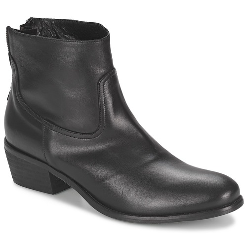 Baja Zapatos Mujer Caña Botas Negro Sofmet De Meline OkuiXPZ