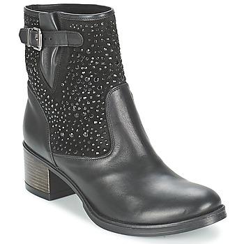 Zapatos Mujer Botines Meline NERCRO Negro