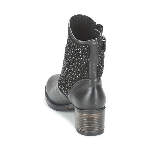 Meline Mujer Zapatos Botines Nercro Negro 2DWEH9IY