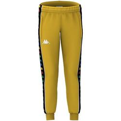 textil Niño Pantalones de chándal Kappa - Pantalone giallo 39114CW-A53 GIALLO