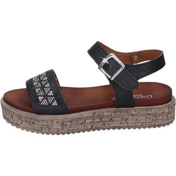 Zapatos Mujer Sandalias Osmose sandalias cuero sintético negro