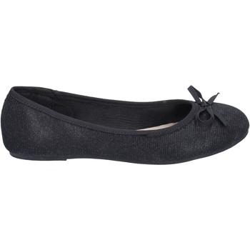 Zapatos Mujer Bailarinas-manoletinas Sara Lopez bailarinas textil negro