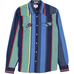 textil Hombre Conjuntos chándal Wrangler Chemise  Western 2 Pocket multicolore