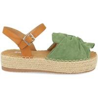 Zapatos Mujer Sandalias Festissimo YT5550 Verde